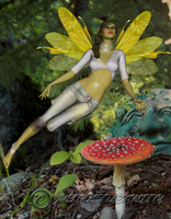 Forest Faery 1 by Just-A-Little-Knotty