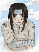Neji's Byakugen by clericashleapreston