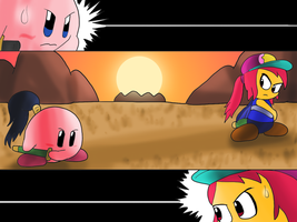Samurai Kirby by JuacoProductionsArts