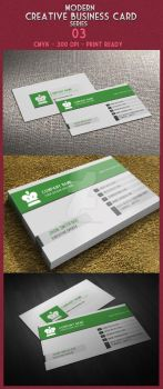 Modern Creative Business Card 02 by ExtremeLogo