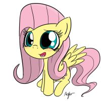 Mini Fluttershy by MateusUK