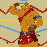 Ty the Tasmanian Tiger by GoldPaladinSevlow