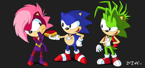 sonic underground by Domestic-hedgehog