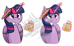 [Stickers] Twilight Sparkle by Scarlett-Letter