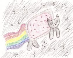 Nyan Cat complete by 915retsamdrows