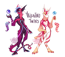 {ADOPTS} The Valentino Twins [CLOSED] by WellHidden