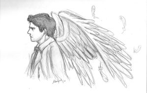 Castiel - the Angel of the Lord by fangirloftheopera