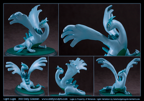 Commission : Light Lugia by emilySculpts
