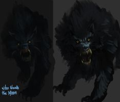 Werewolf Concepts-march2012 by tamccullough