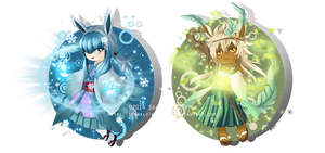 Chibi mages 4th generation by Sparkly-Monster