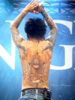 Kyo back tatoo by Totchi-kun