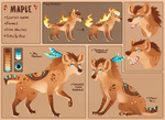 Maple Reference - Summer 2016 by MapleSpyder