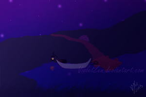 Peaceful Night by VioletZen