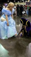 Cinderella PRCC 2015 shoe fitting by DramaDollLover