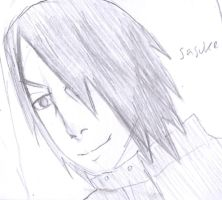 Adult sasuke sketch by Fran48