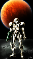 Samus Aran - The Knight in Shining Armor by 0Riku-kun0