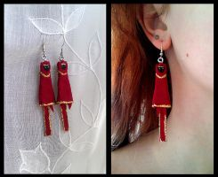 Journey earrings by JourneyOfBell