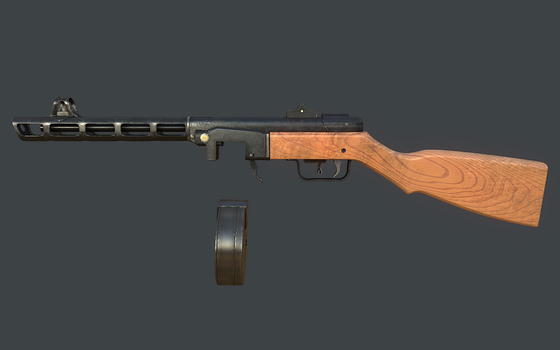 PPSH-41 Remaster by SilverHD2