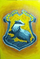 Hufflepuff Crest by Capitaine-Jaf