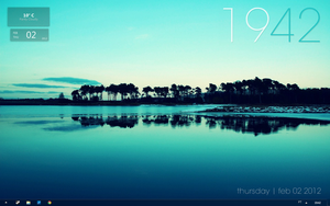 Calm Desktop by droidsz