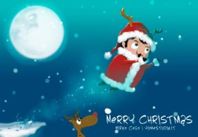 Merry Christmas :3 by michan