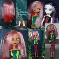 Fauna: Monster High Custom by DrefanKearse
