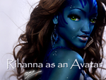 Rihanna as an avatar by DanielRocket999