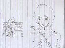 Doodle I made while in Baguio by 360DegreesCelsius