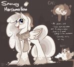 Snowy Marshmallow NEW OC by Drawing-Heart
