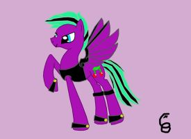 Mrdoctorawesome's pony request 'lavender- luck' by co-nay
