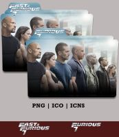 Furious 7  Folder Icon (2015) - Version 1 by Bl4CKSL4YER