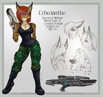 Echo: Reference Sheet by Arctic-Sekai