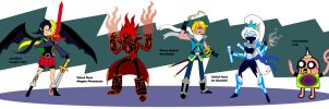 GROWN UP, AT NEW HEROES POWER UP by CrimsonFace