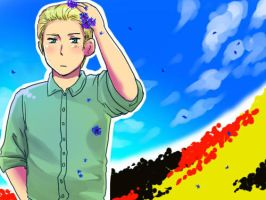 Hetalia Germany by sushi-country