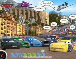 cars 2 All racers by JeffandLewis