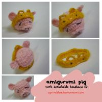 8 amigurumi pig by Cyn-Rabbit
