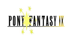 Pony Fantasy IX Logo by TheAuthorGl1m0