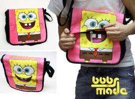 Spongebobs Bag by Bobsmade