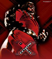 Extreme Rules - Custom Poster Kane by MarcusMarcel