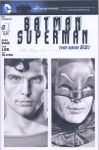 Batman Superman blank sketch cover pencil drawing by smoothdaddyride