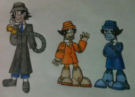 Inspector Gadget and the Gadgetinis by jess06