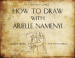 How To Draw With Arielle Namenyi: Dodge by AN-ChristianComics