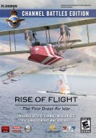 Rise of Flight : Channel Battles Edition box-art by rOEN911