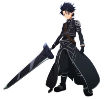 Kirito - ALfheim Online Fairy Dance Version Render by CloudNova