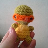Tiny turtle by StitchedLoveCrochet