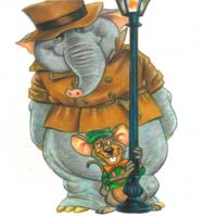 Undercover Elephant and Loudmouth by Hognatius