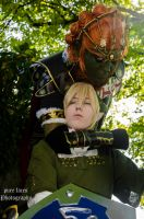 Ganondorf caught Link! by pure-faces
