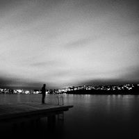The Man And The Jetty by CalleHoglund