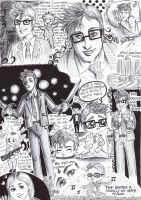 Sketch tribute to the Tenth Doctor by FuriarossaAndMimma