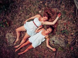 Lying in the Forest by TheSoftCollision